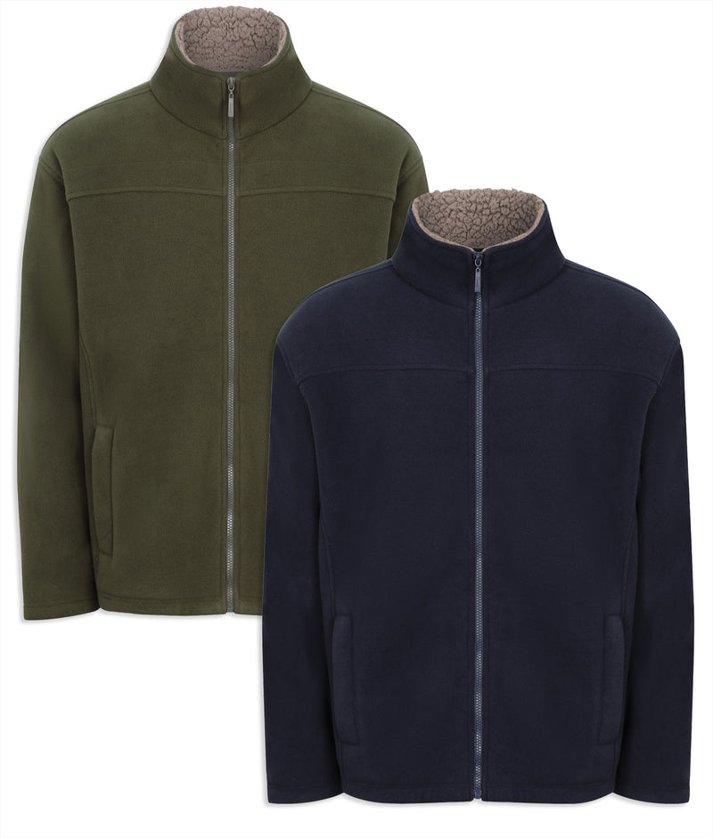Champion Otley Fleece Jacket | Navy, Olive