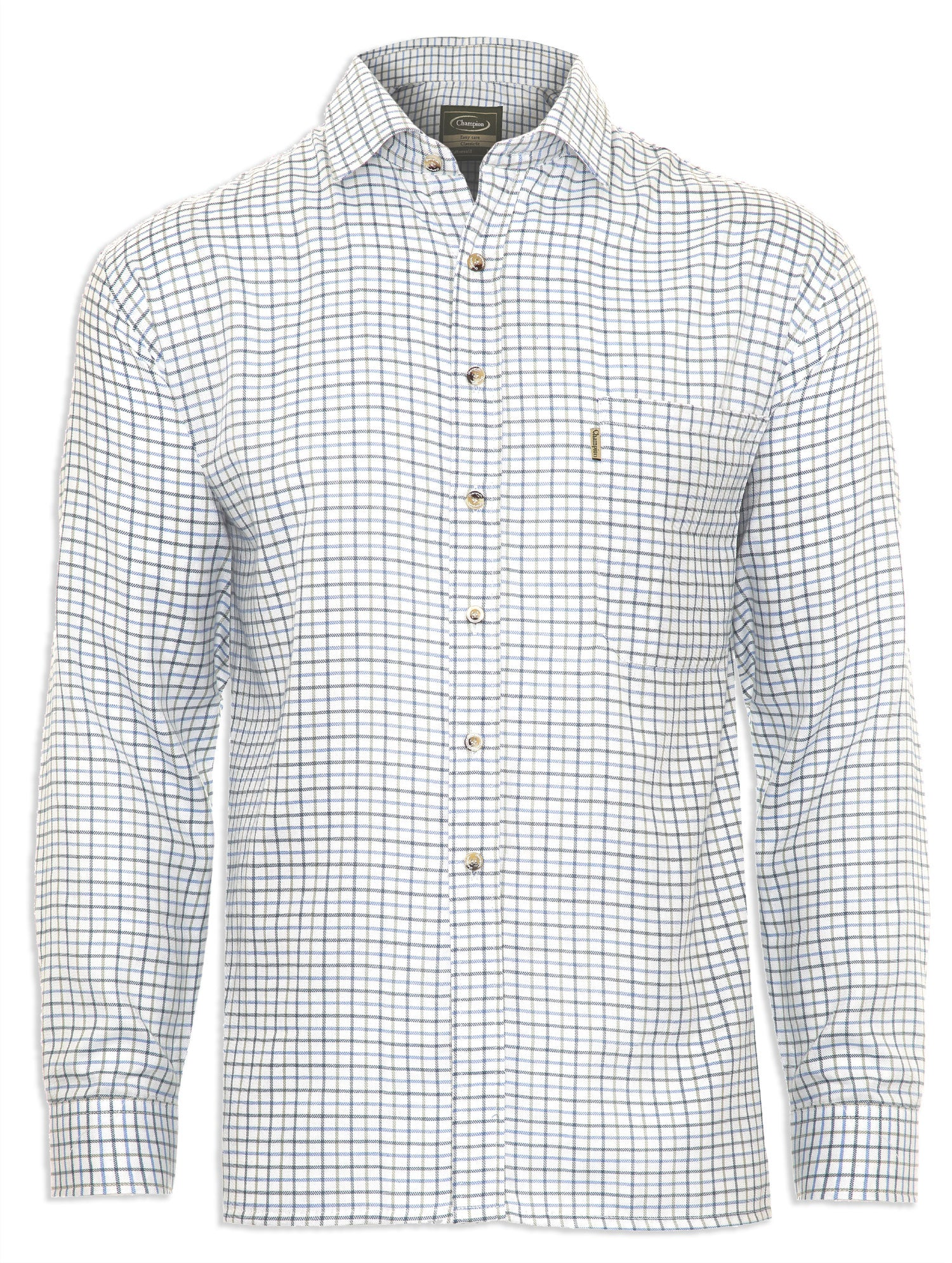 Blue Check Champion Tattersall Country Shirt