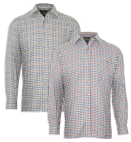 farmer's check shirt York Long Sleeved Shirt by Champion