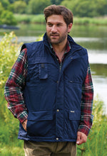 Navy multi pocket Champion Peak Padded Bodywarmer