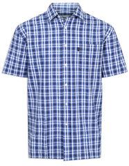 Blue Champion Croyde All Cotton Short Sleeve Shirt