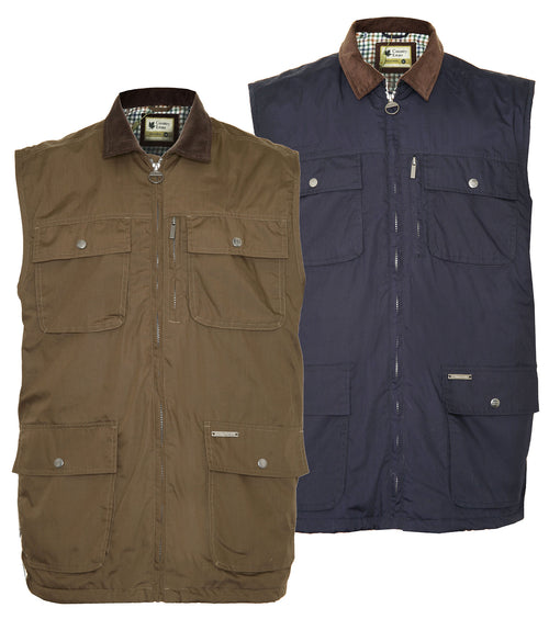 champion silverdale waistcoat with pockets country gilet country estate