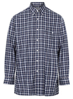 Champion Southwold Navy Check Long Sleeve Shirt
