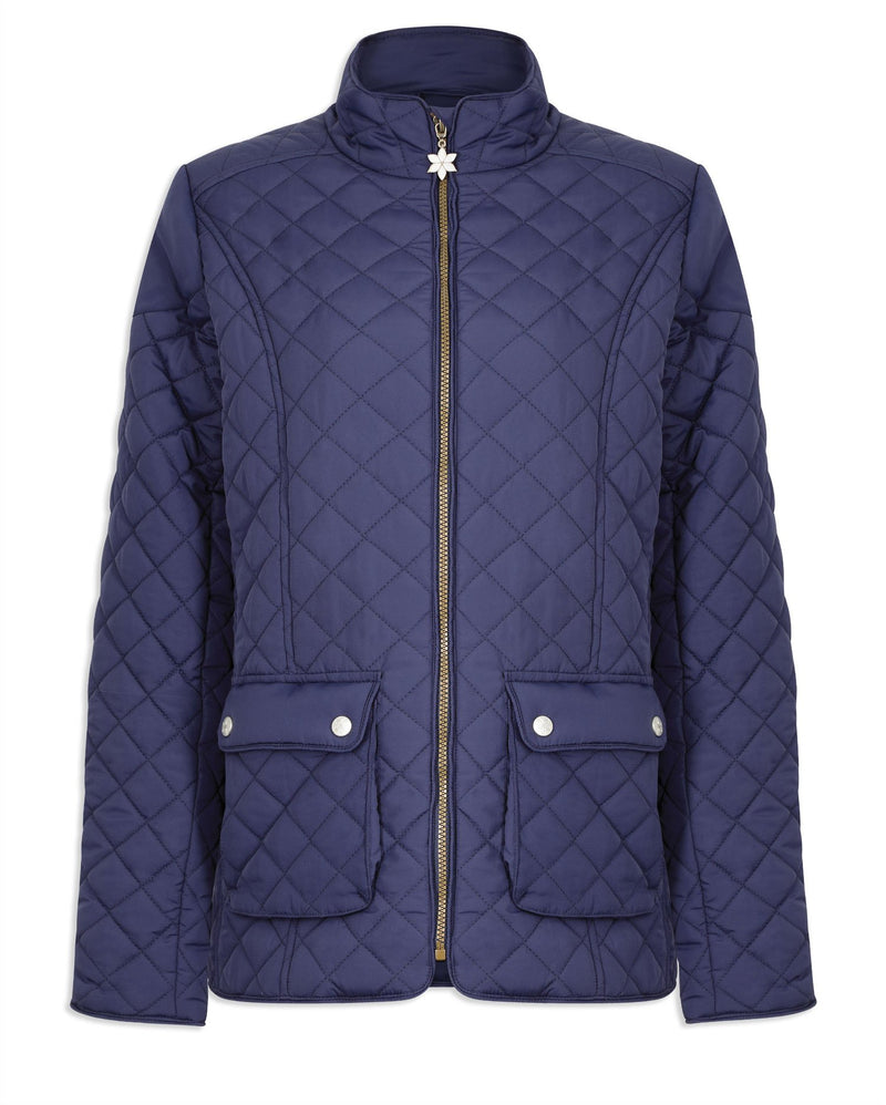 Champion Wisley Quilted Jacket Navy