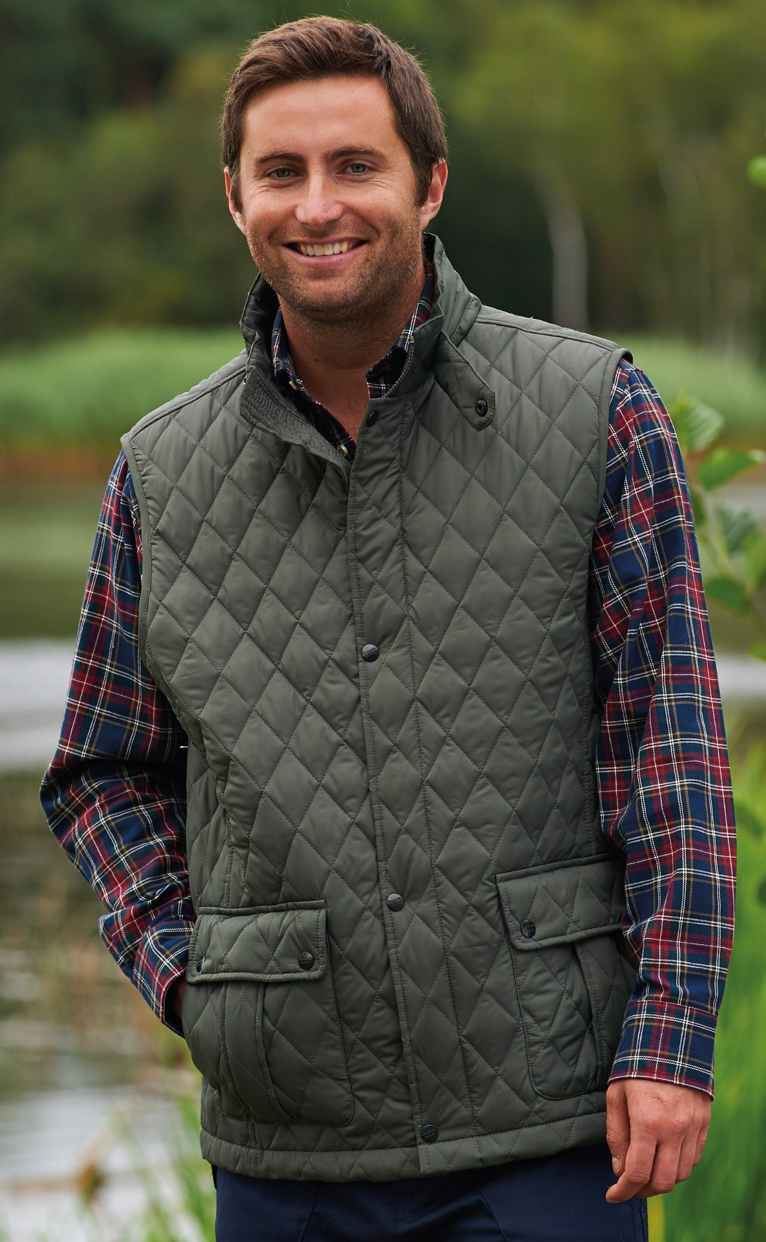 Champion Ashby Quilted Bodywarmer Hollands Country Clothing