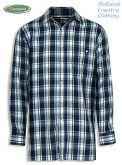 chatham shirt navy