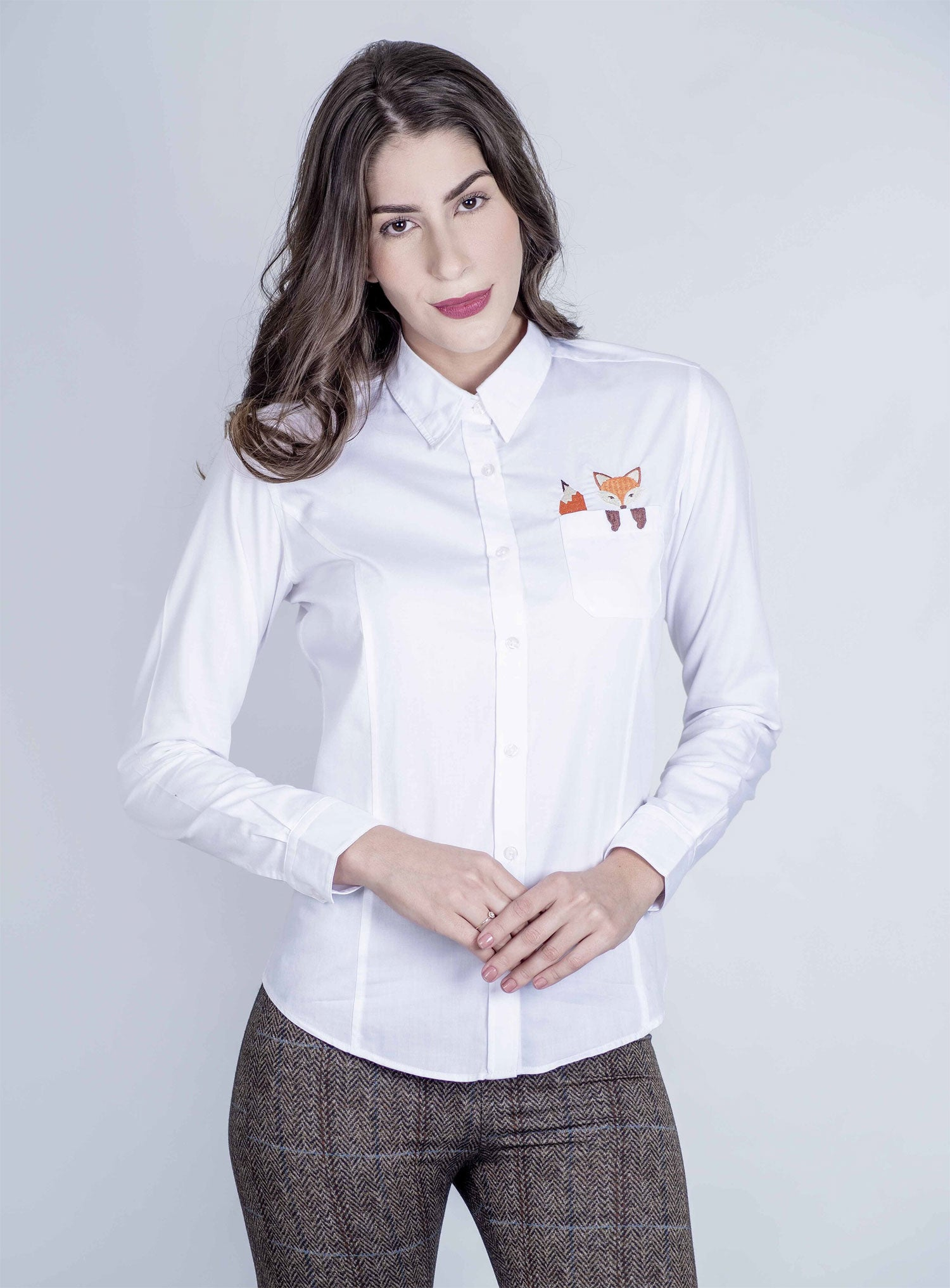 Hartwell Cheeky Fox Shirt for Ladies