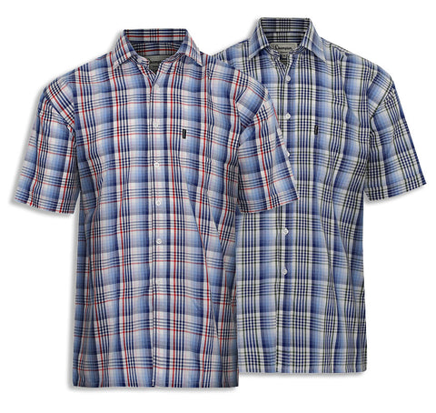 Champion Chester Short Sleeved Shirt summer country check shirt