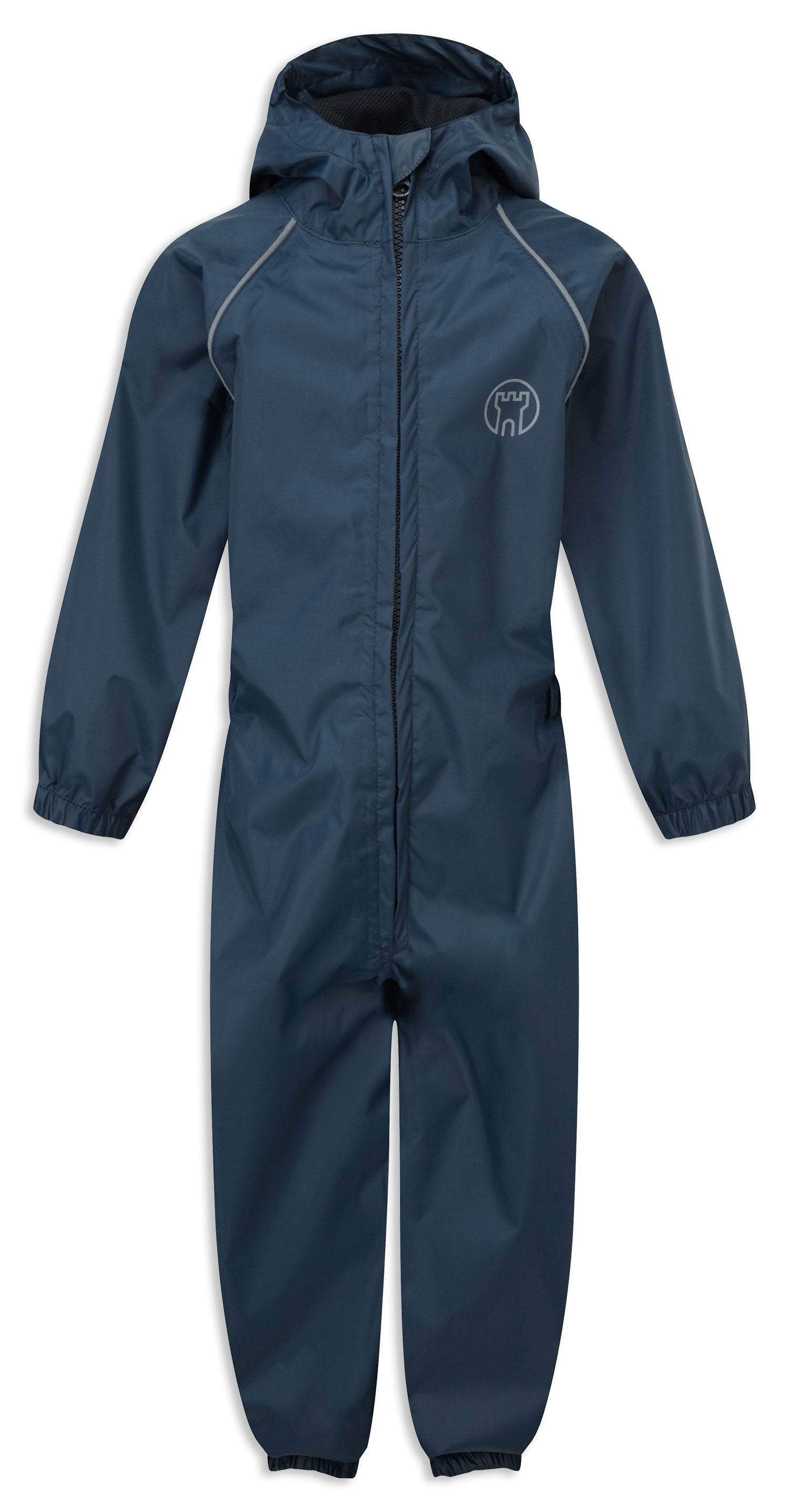 Navy Castle Fort Child's Splashaway Rainsuit