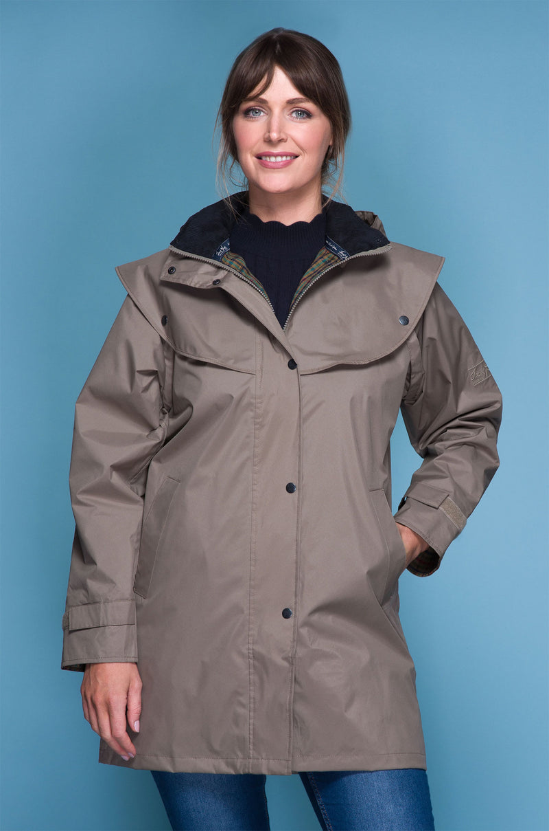 Chinchilla Jack Murphy Cotswold Three Quarter length Ladies Coat