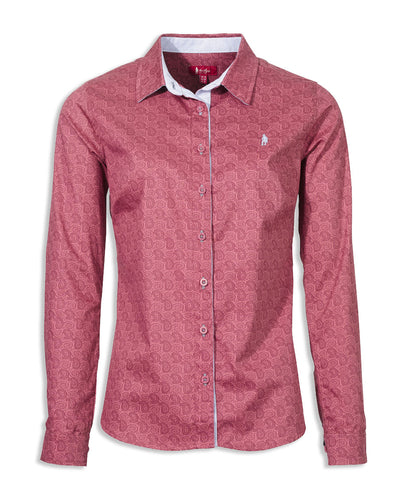 Jack Murphy Claire Shirt in Paisley Rosewater