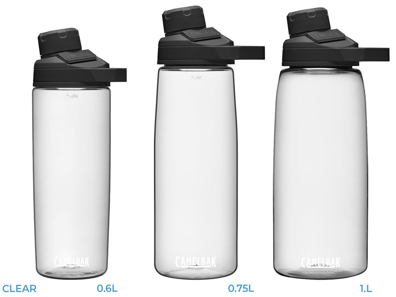 Clear CamelBak Chute Mag Bottle | .6L .75L 1.0L