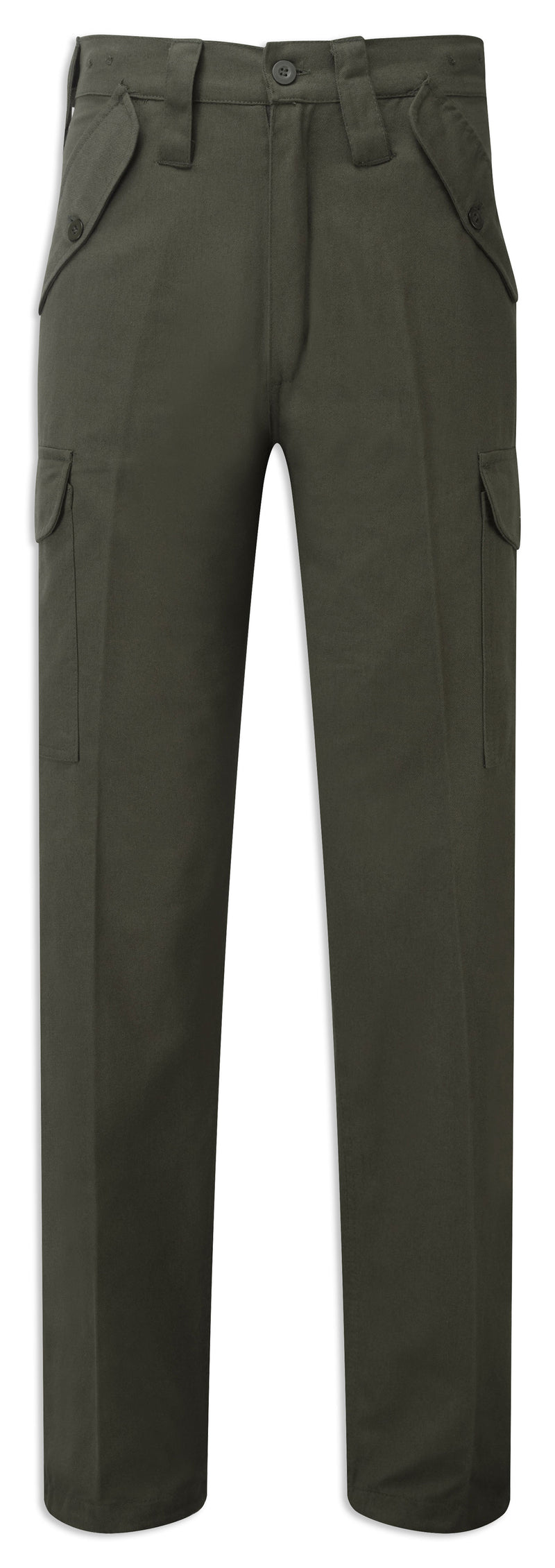 Olive Castle Fort Combat Trousers