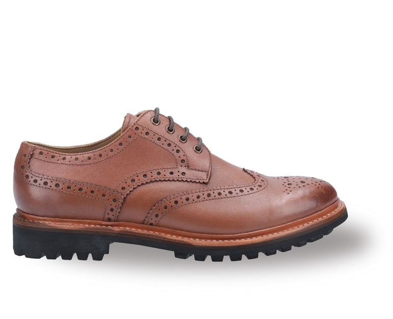Cotswold Leather Goodyear Welt Commando Brogue