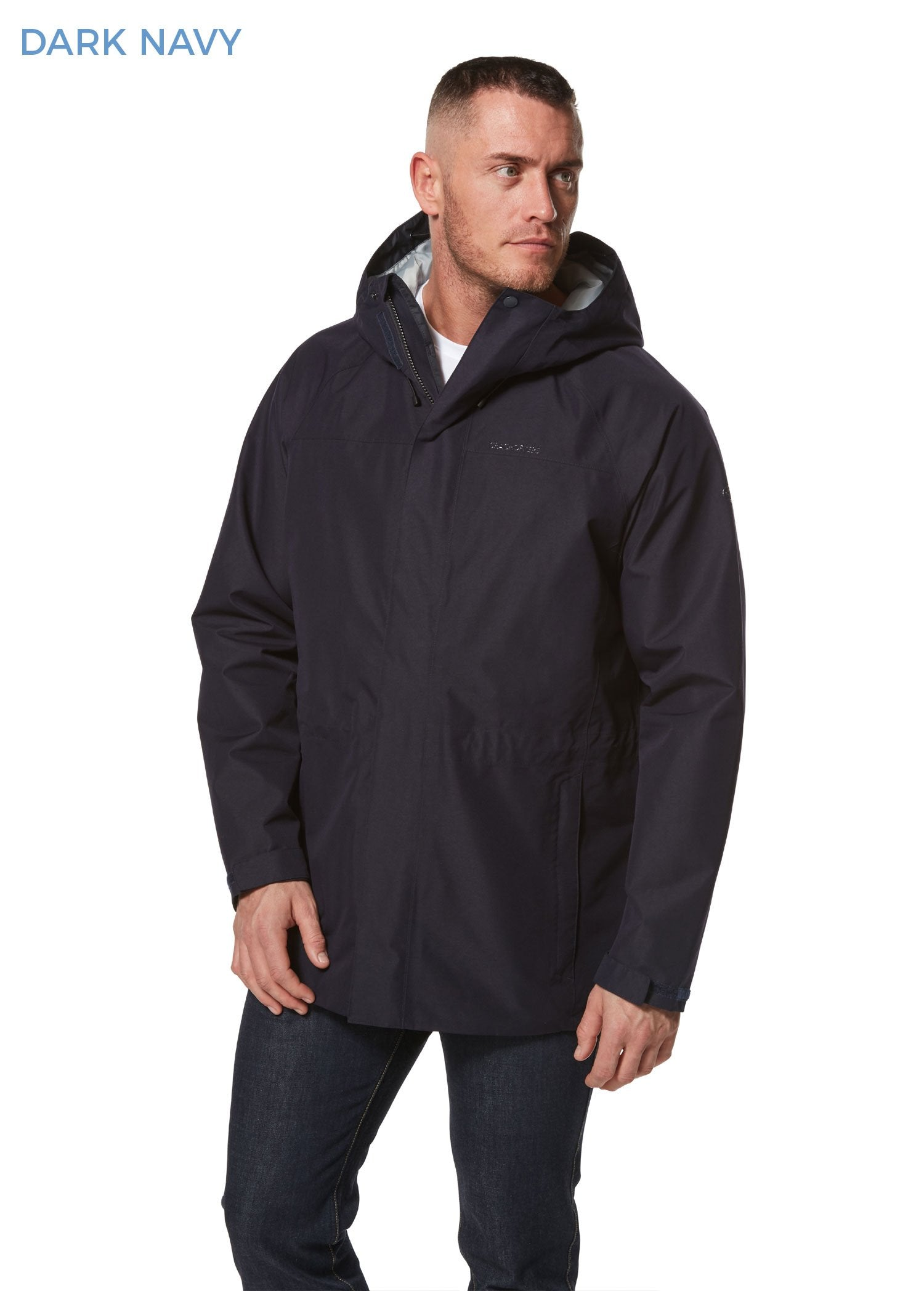 Dark Navy Corran Gore-Tex Waterproof Jacket by Craghoppers