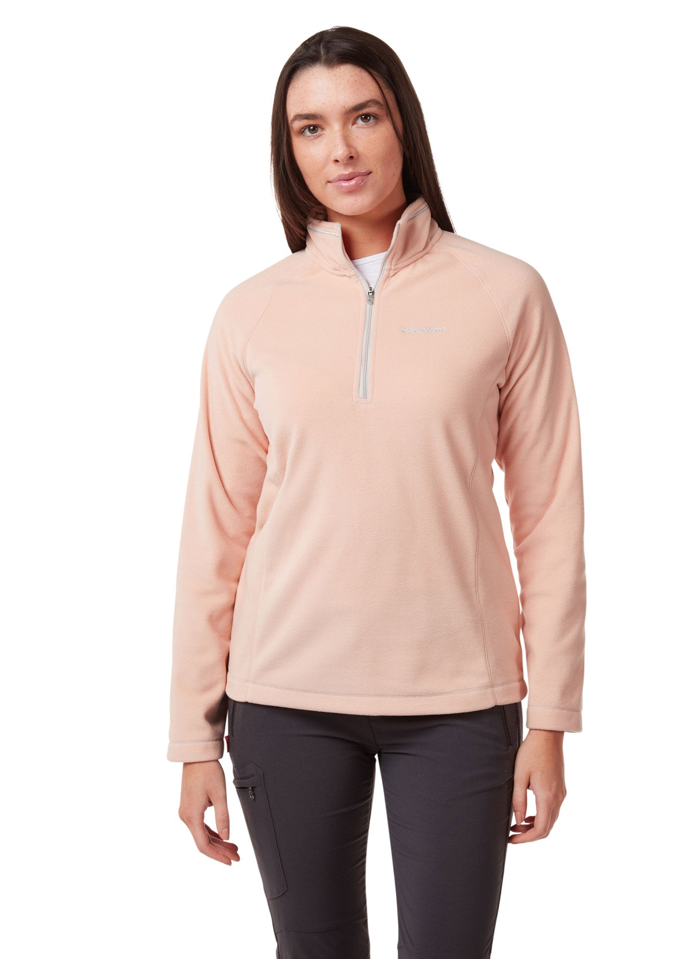 Corsage Pink Miska Women's Microfleece Top by Craghoppers