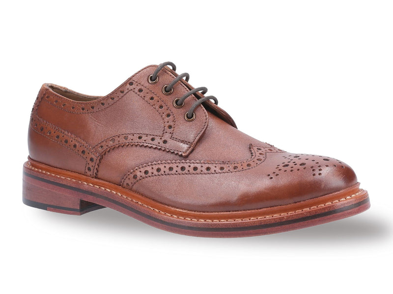 Cotswold Quenington All Leather Brogue Shoe