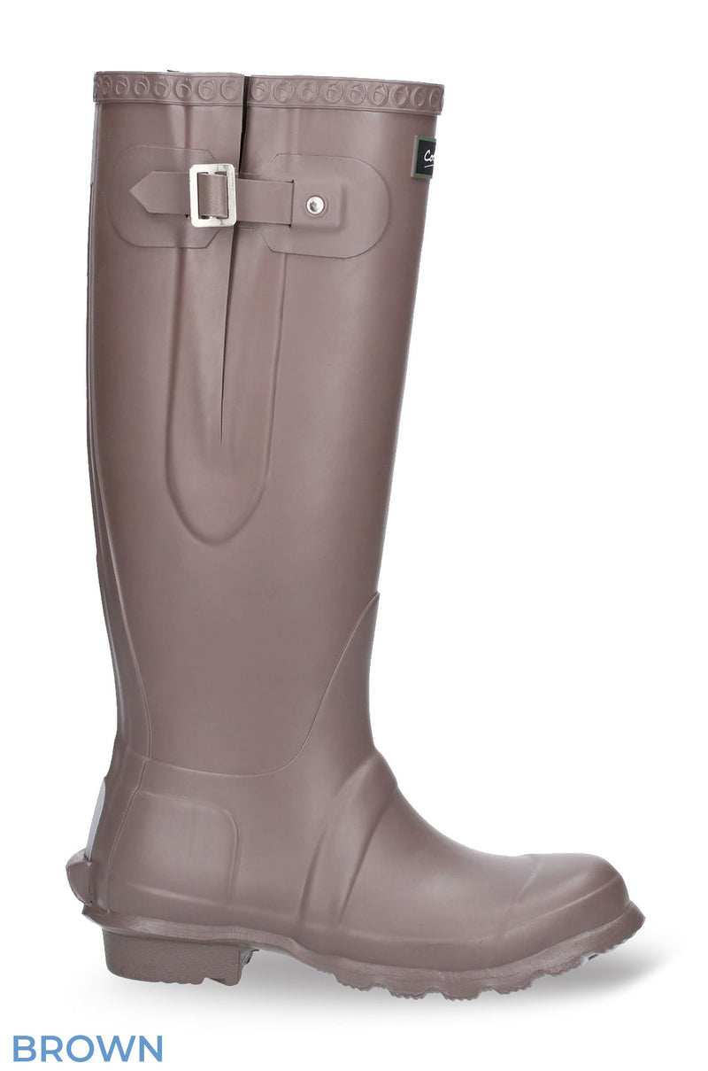 Side Buckle Wellingtons