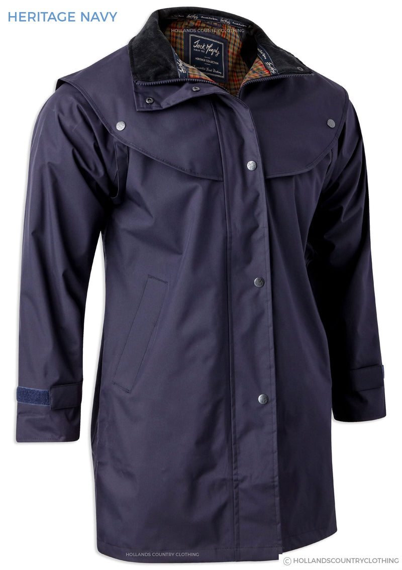 Navy Jack Murphy Cotswold Three Quarter length Ladies Coat