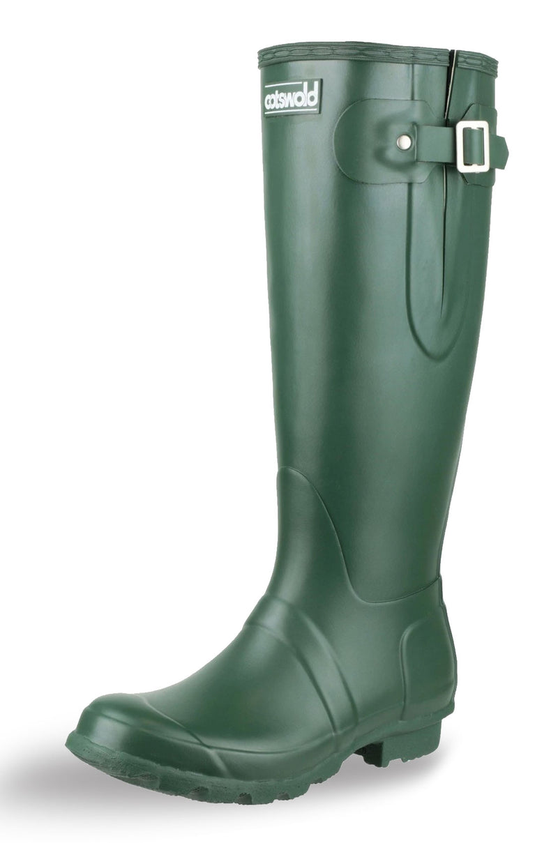 Cotswold Green Rubber Windsor Wellingtons