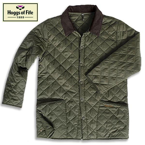 Hoggs Of Fife County Quilted Jacket Hollands Country