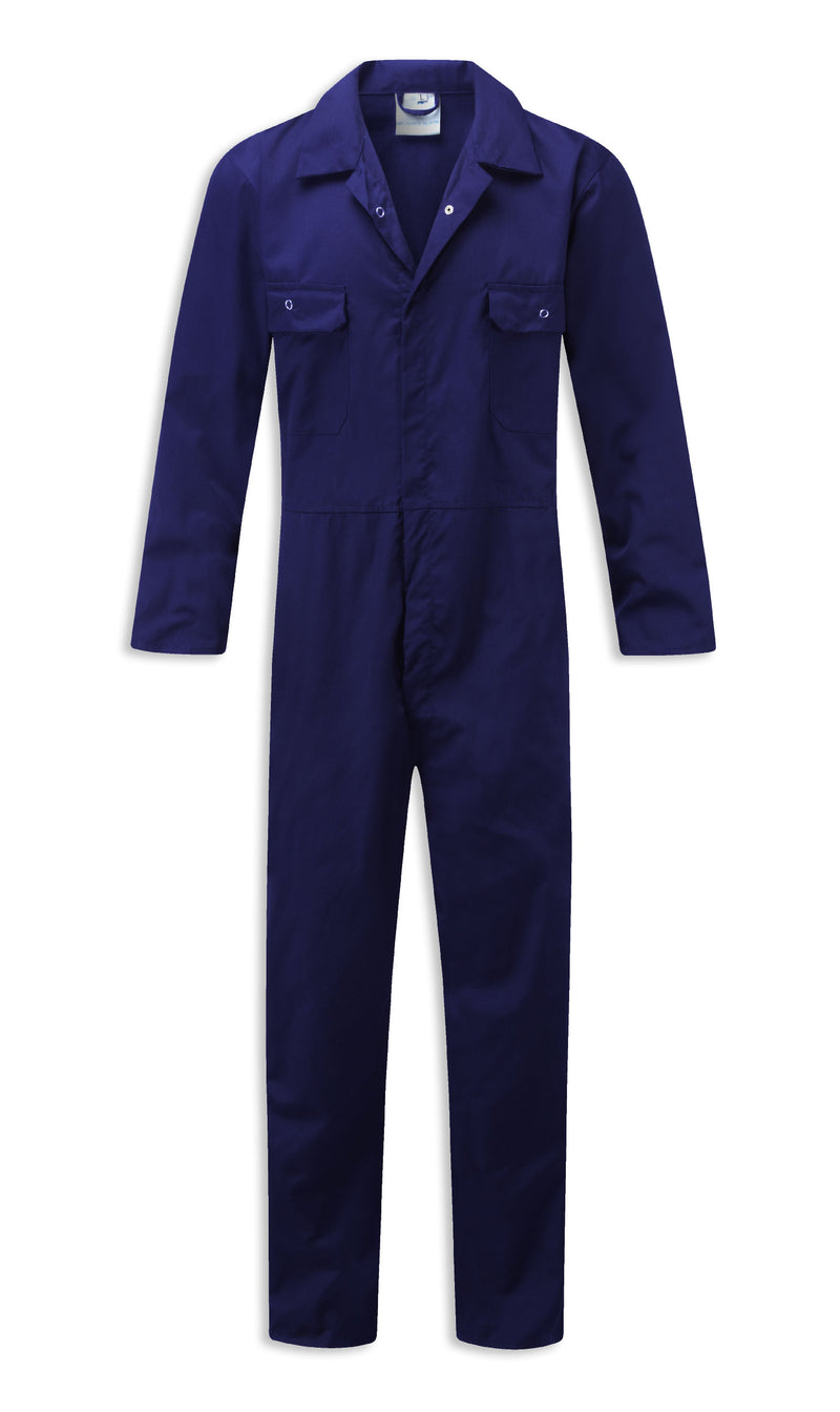 Royal blue Fort Workforce Polycotton Overall