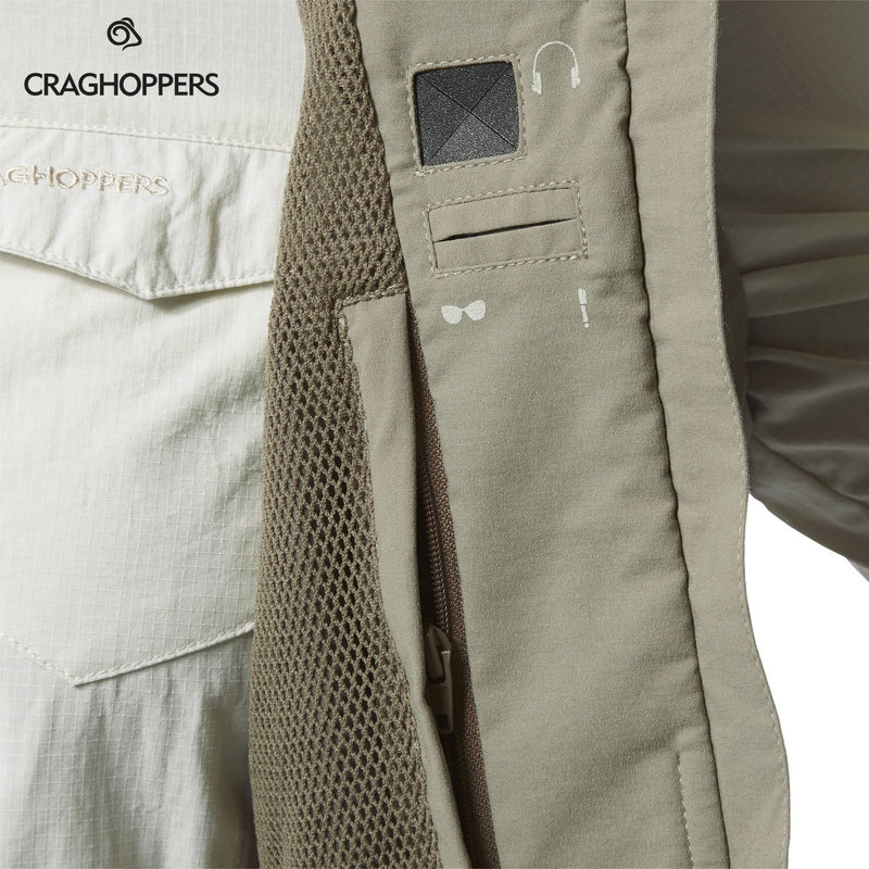Mesh lining and pocket detail Craghoppers NosiLife Allegra woman's Gilet
