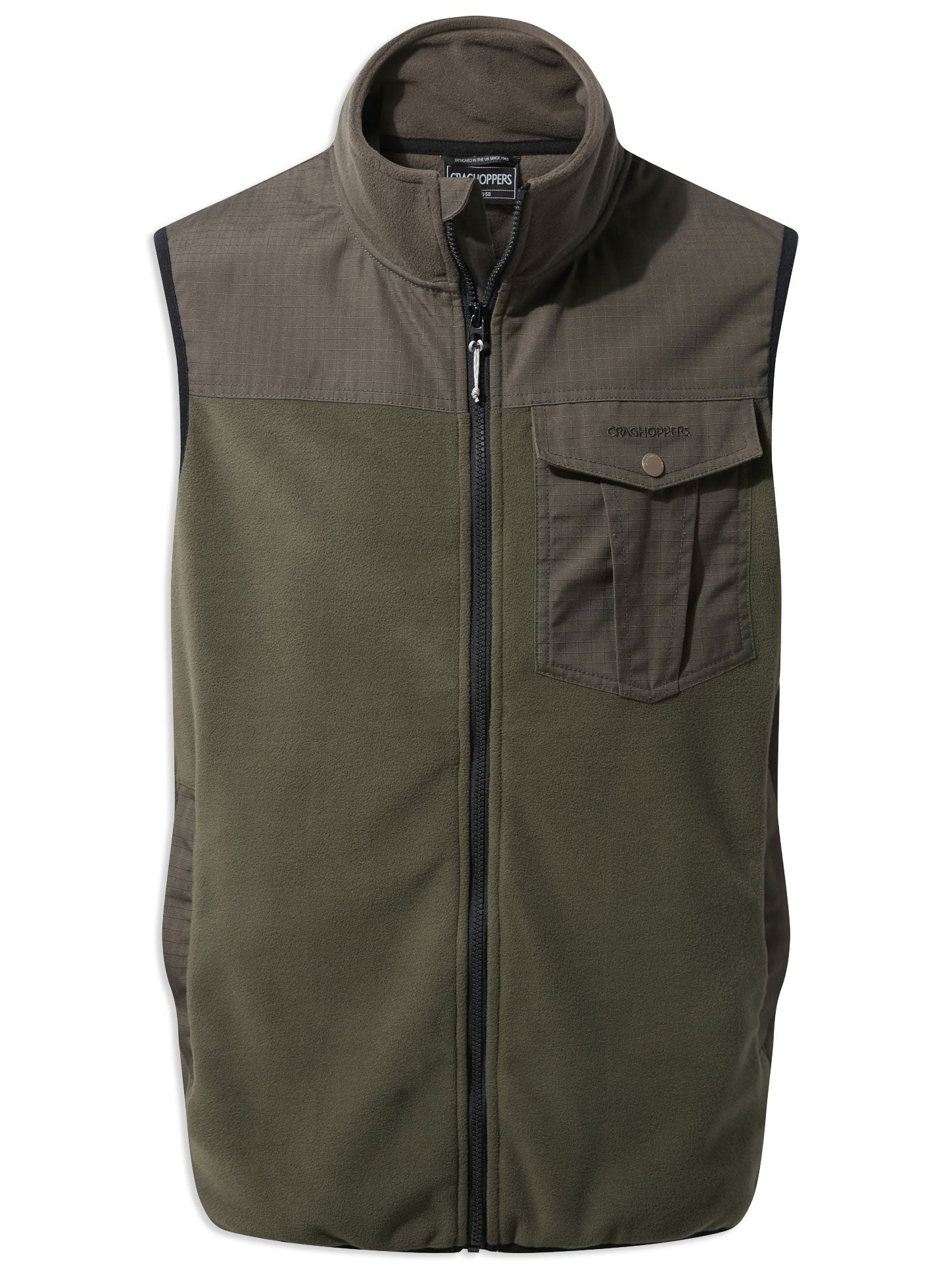 Woodland Craghoppers Dillon Micro Fleece Gilet vest
