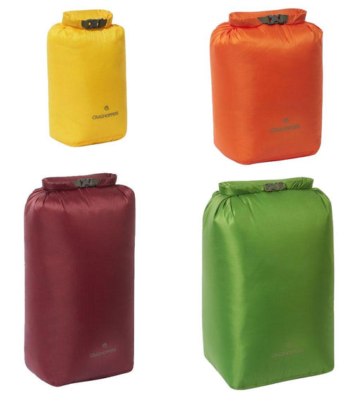 Craghoppers Dry Bag | 5 - 40 Litres Yellow, Green, Orange, Brick Redd