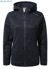 Craghoppers Ladies Strata Hoodie | Blue Navy