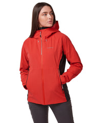 Haidon Ladies Jacket by Craghoppers in Rio Red