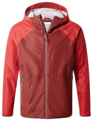 Craghoppers Horizon Waterproof Jacket | Garnet Red