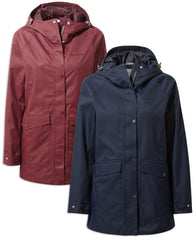 Craghoppers Madigan Classic III Jacket | Blue Navy,  Wildberry