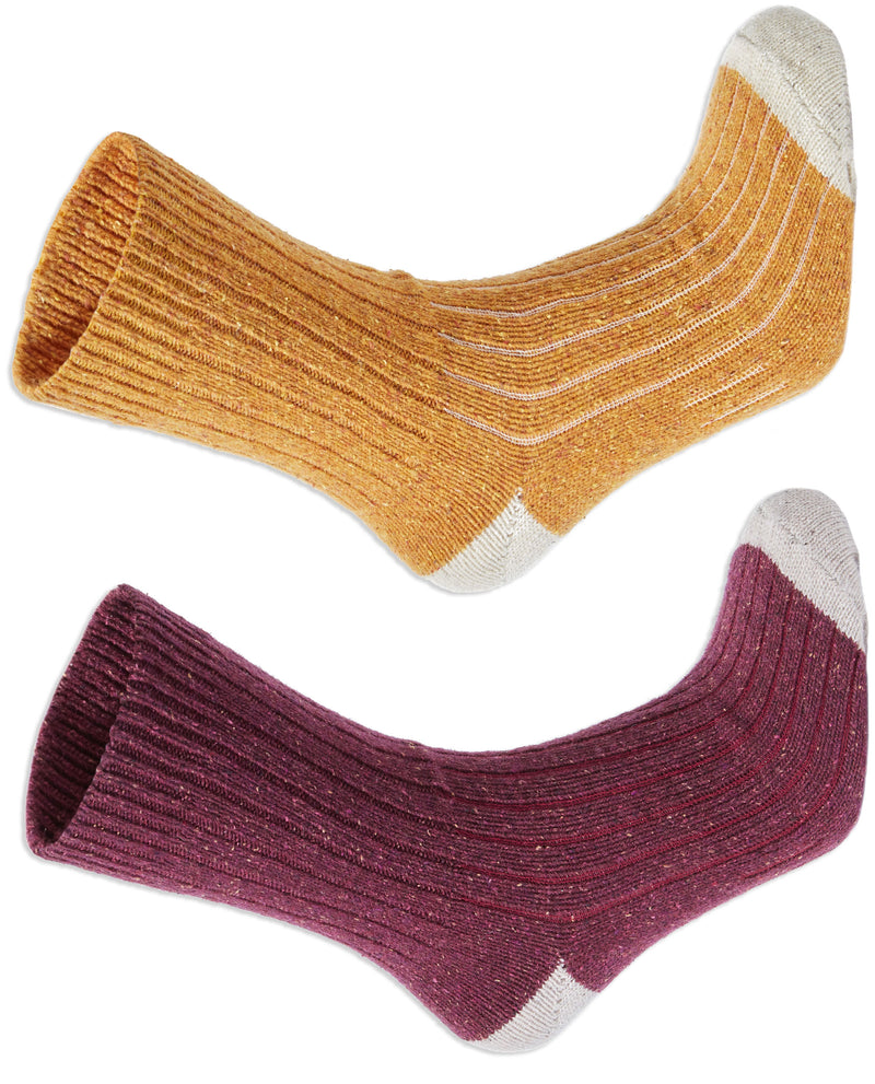 Craghoppers Nevis Ladies Walking Socks | Spiced Copper, Wildberry
