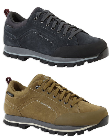 Craghoppers Onega Trekking Shoe | Black Pepper, Kangaroo