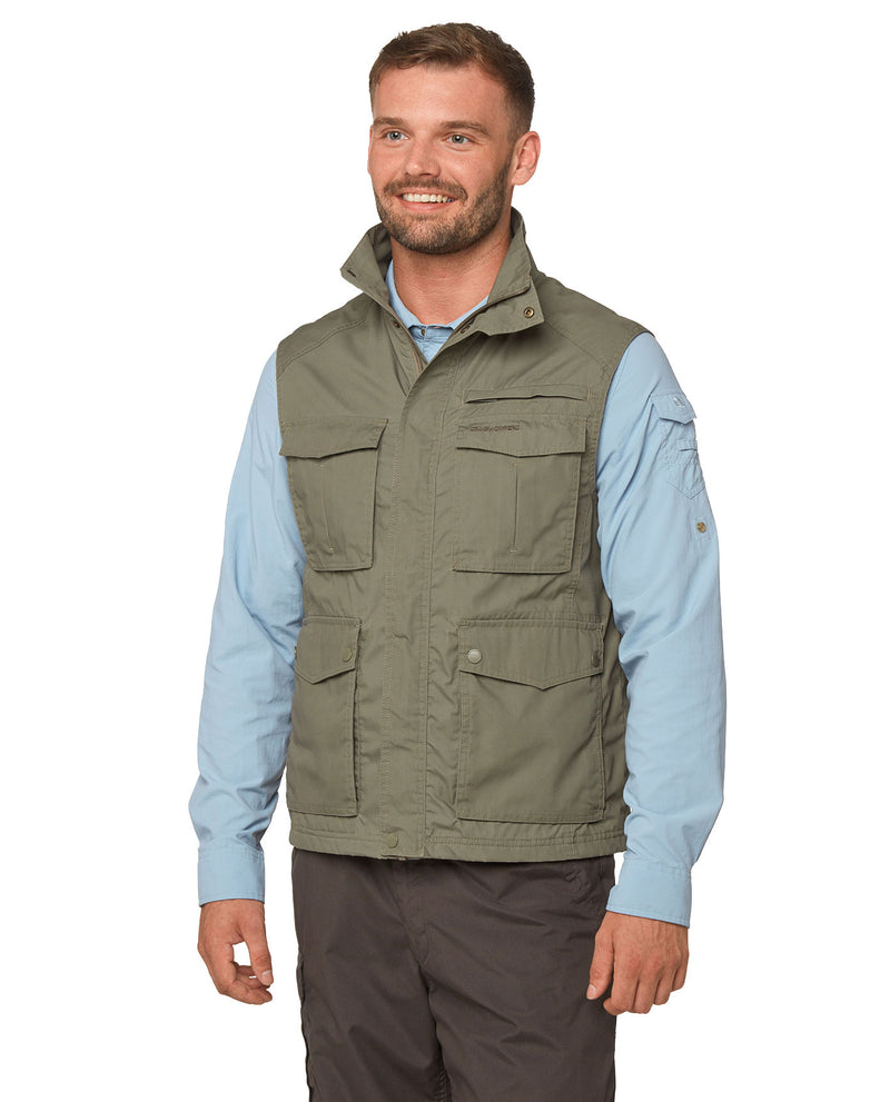 Greenwich Green Craghoppers Novara Multi-Pocket Vest