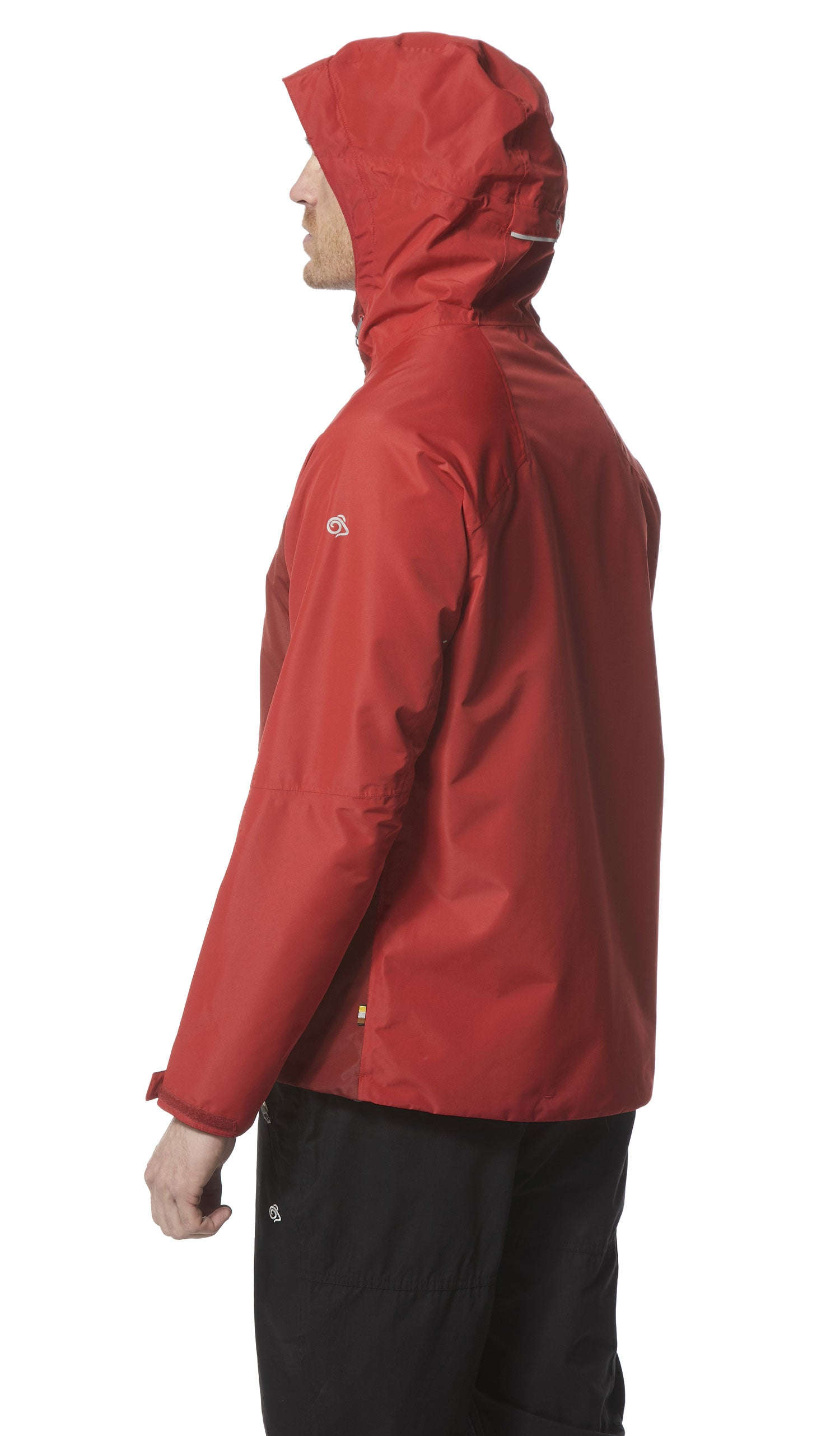 side view Craghoppers Horizon Waterproof Jacket