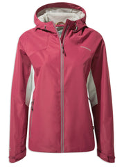 Craghoppers Horizon Waterproof Jacket | Amalfi Rose