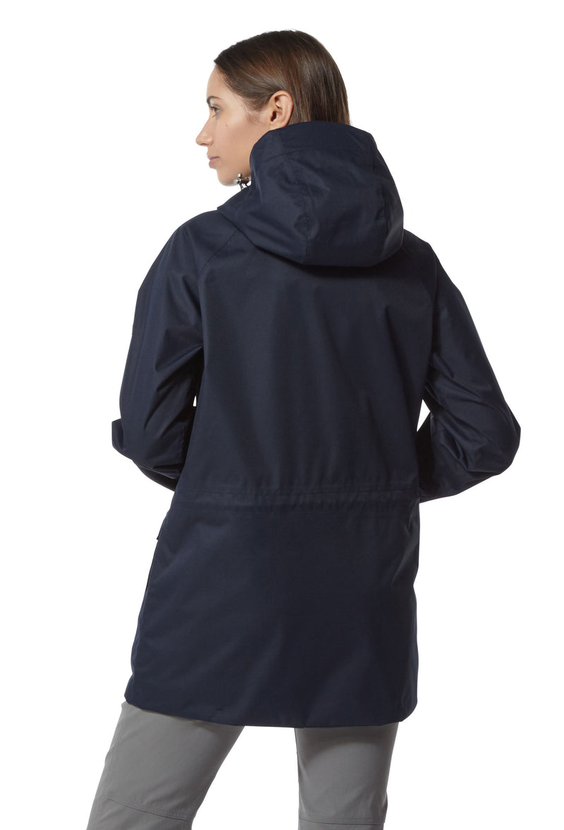 Navy Blue Madigan Waterproof Ladies Jacket by Craghoppers