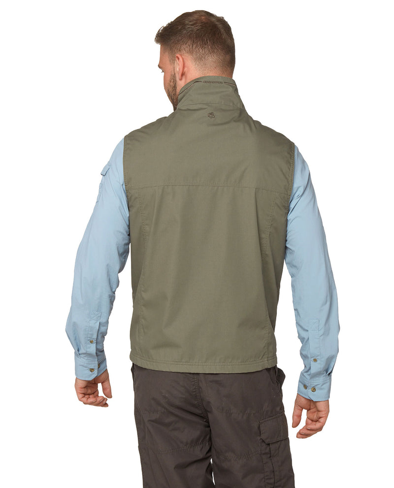 Back View Craghoppers Novara Multi-Pocket Vest