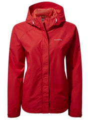 Dark Rio Red Orion Ladies Jacket by Craghoppers