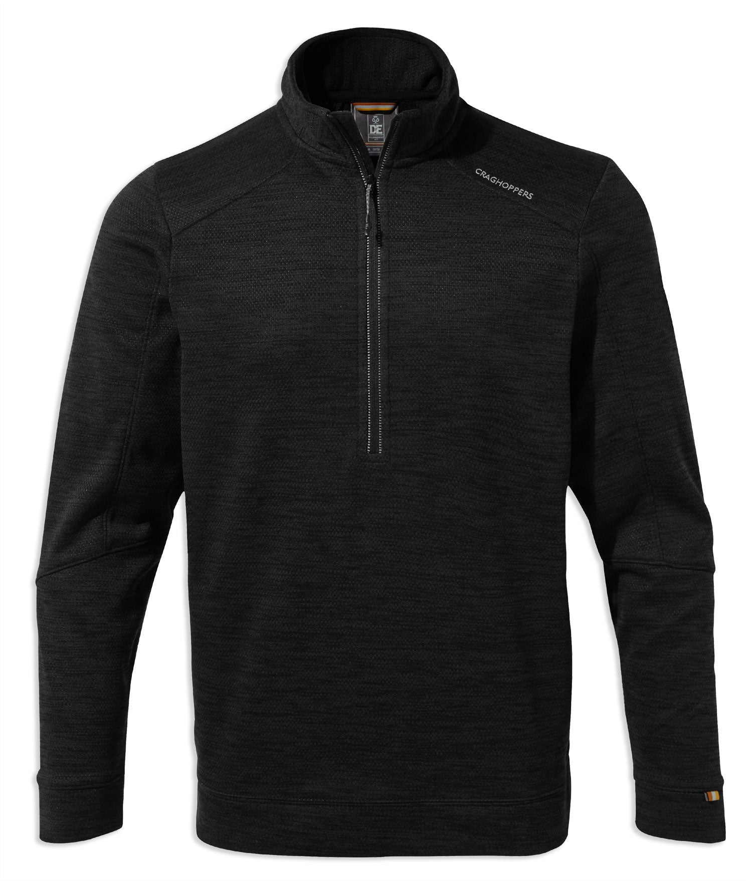 Craghoppers Strata Half Zip Fleece Black