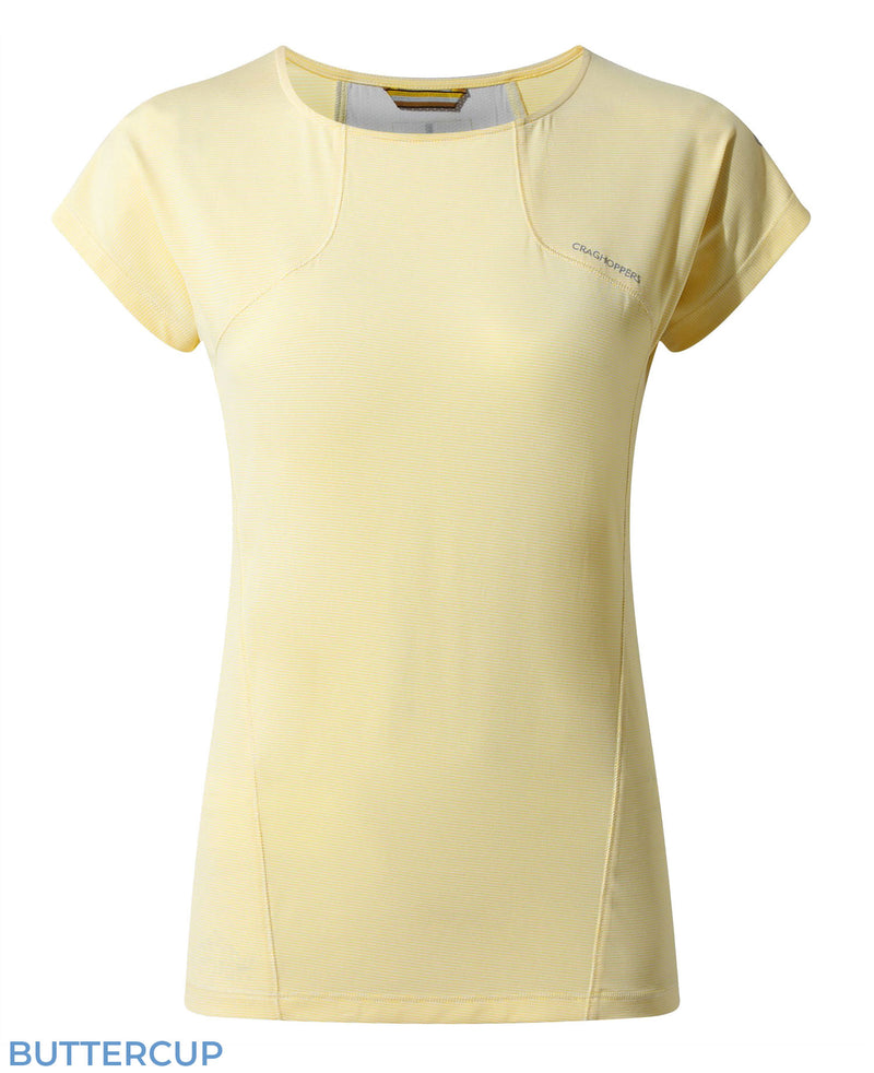 Craghoppers Fusion T-Shirt in Buttercup