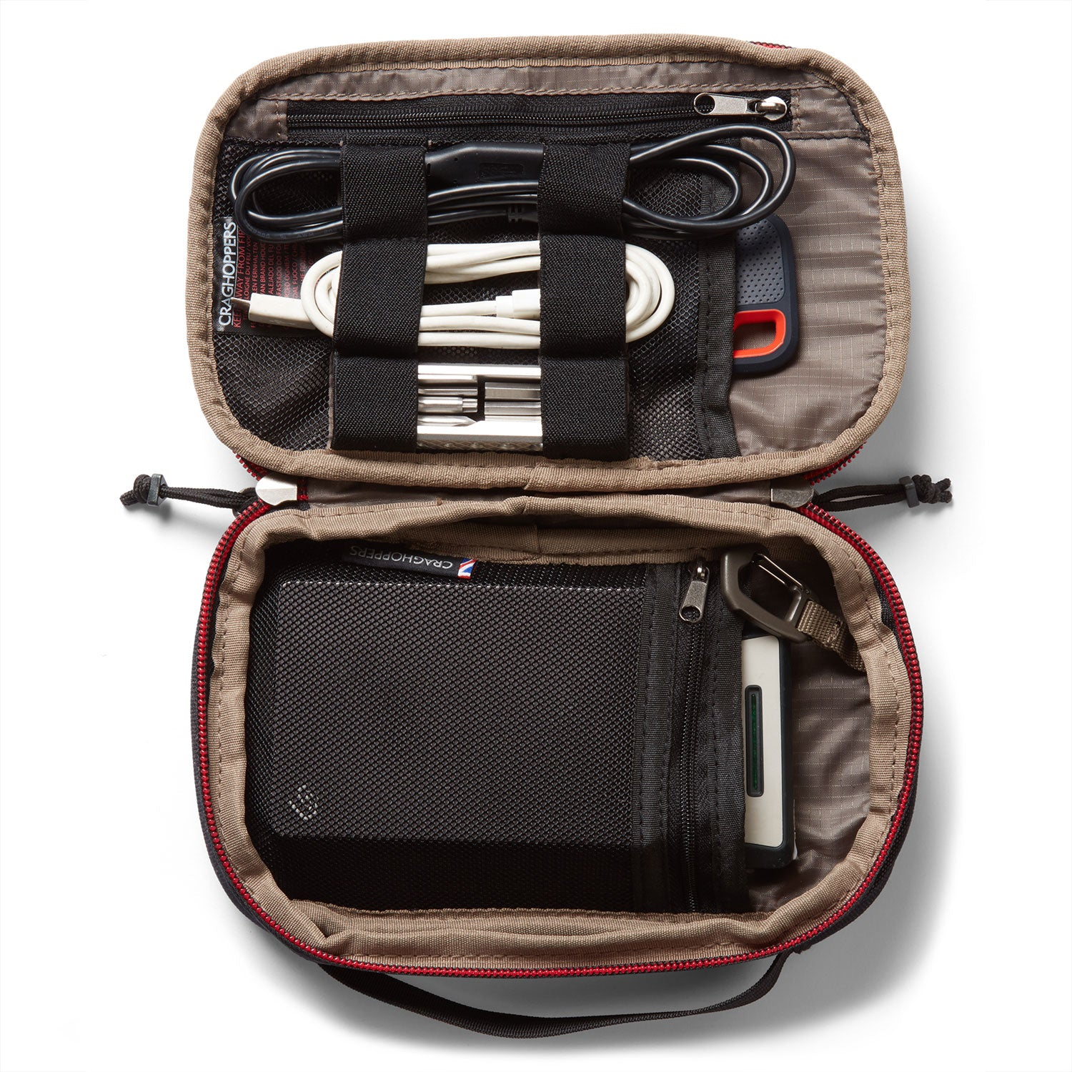 Stow your electrical tech when your traveller's case