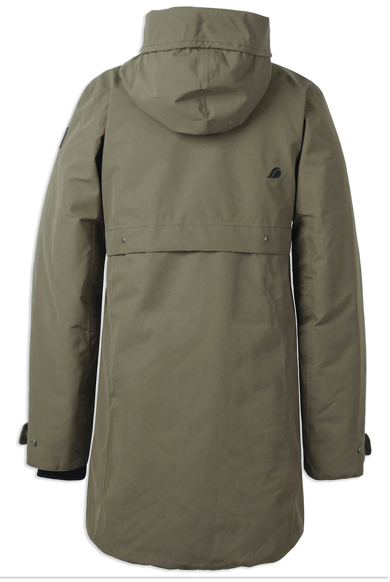 Back View Didriksons Helle II Waterproof Parka