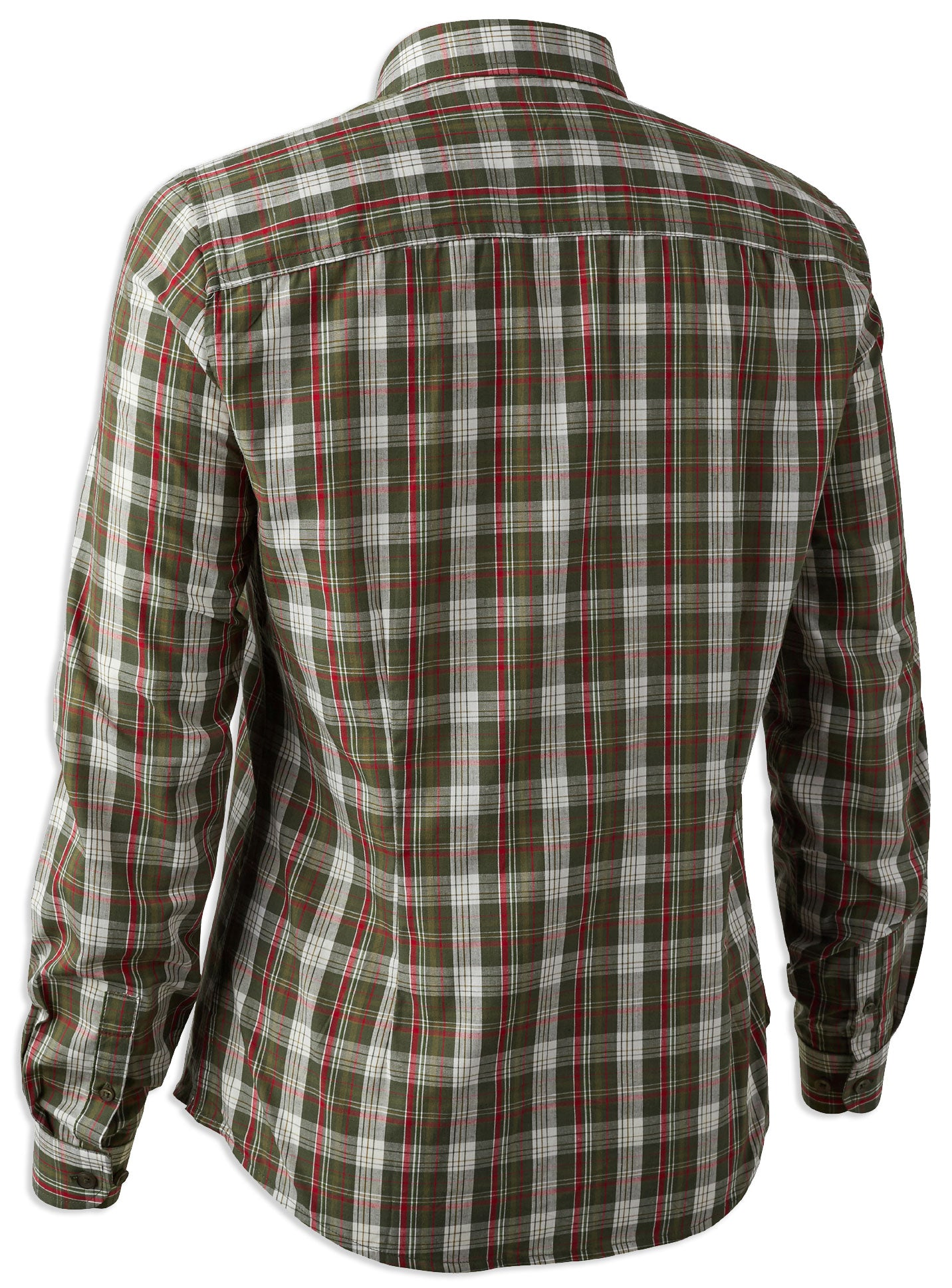 Green check ladies Deerhunter Lady Claire Shirt