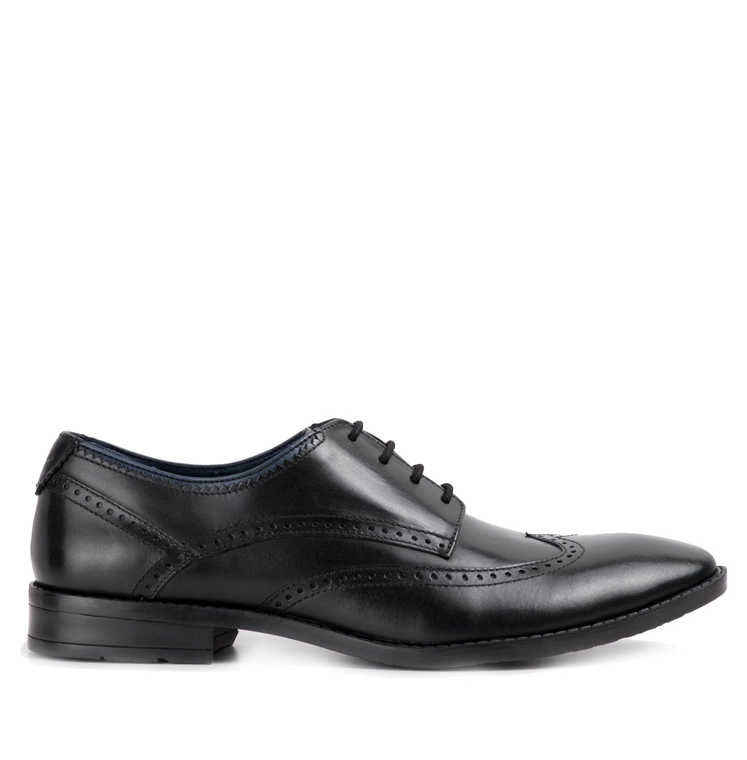 Goodwin Smith Aubyn Oxford Brogue Shoe | Black