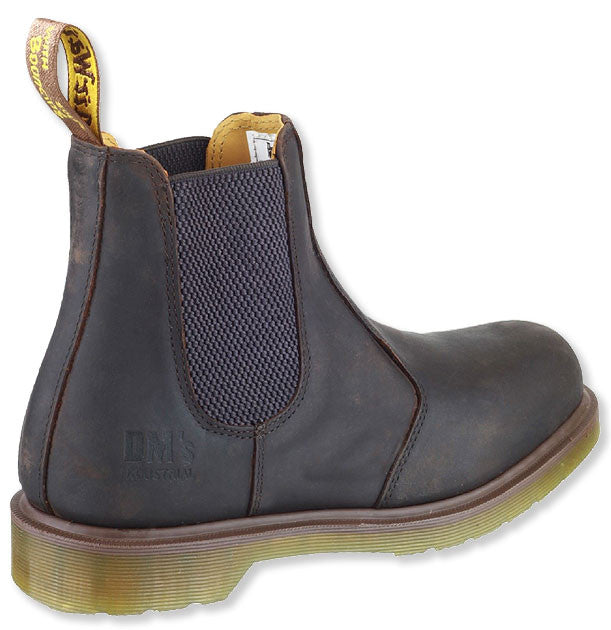 Elastic gusset Chelsea boot Doc Martens Classic Brown Gusset Boot