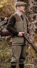 tweed field shooting outfit Moorland Tweed Shooting Waistcoat DXO422