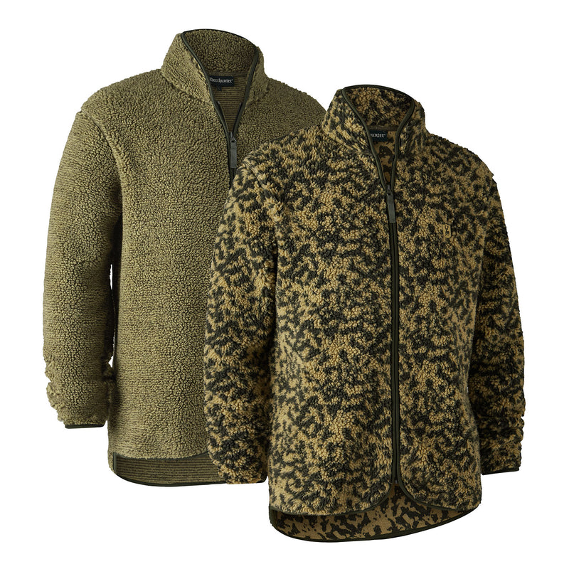 Sherpa fleece for hunting